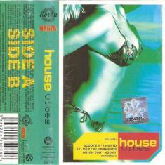 Vand Caseta -House Vibes-, originala, holograma