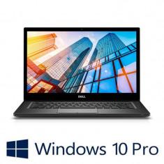Laptop Refurbished Dell Latitude 7490, i7-8650U, 256GB SSD, Win 10 Pro