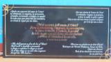 Carte postala cu acelasi text religios din Bazilica S. Paulo, Italia, in 5 limbi, Necirculata, Printata