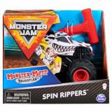 Masinuta Monster Jam, Scara 1:43, Monster Mutt Dalmatian Spin Rippers