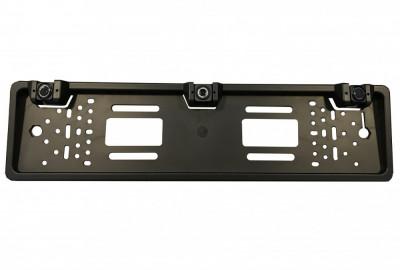 Sistem de parcare 2 in 1 pe suport de numar cu camera de marsarier si 2 senzori de parcare incorporati CS425 foto