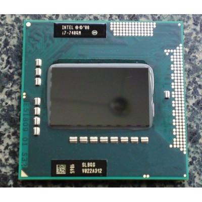 Procesor laptop - Intel Core I7 740QM SLBQG 1.73GHZ / 4M Cache Socket G1 foto