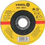 Disc debitat metale 115 x 2.5 x 22 mm Vorel 08633