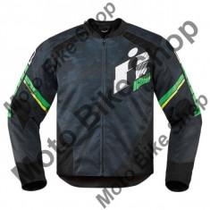 MBS Geaca textila Icon Overlord Primary, L, negru/verde, Cod Produs: 28203643PE