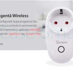 Priza inteligenta Wi-Fi Sonoff S26F