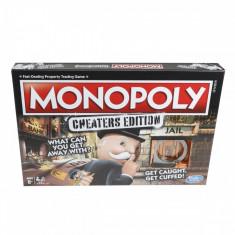 Joc de societate Monopoly Cheaters edition