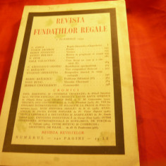 Revista Fundatiilor Regale 1nov1934 -Nr.Doliu la moartea Regelui Alexandru al Yu