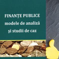 Finante publice modele de analiza si studii de caz Radu Titus Marinescu