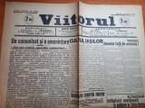 ziarul viitorul 24 octombrie 1945-cultul iasilor,hitler,targu mures