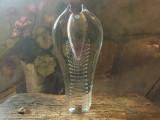 Arta / Decor / Vintage - Vaza deosebita din cristal design Pavel Juda / Cehia !