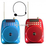 Mini Radio Portabil cu Portavoce, Microfon, Slot SD, USB si AUX M02