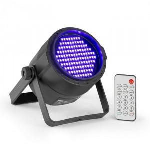 Beamz PLS20 Blacklight UV, lumina reflectoarelor LED, 120 x 3528 LED-uri, baterie, telecomandă