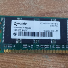 Ram PC Qimonda 1GB ddr 400 MHz