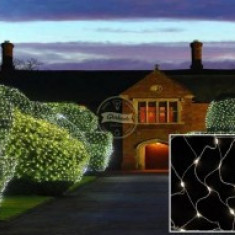 Plasa luminoasa, lungime 2 m /latime 2 m, perdea luminoasa tip plasa, instalatii luminoase, interconectabila