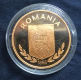 Romania (100 Lei) 1996  Proba monetara, Alama