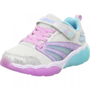 Tenisi Copii Skechers Kinder Sneaker Low Fusion Flash 302043LSLLV