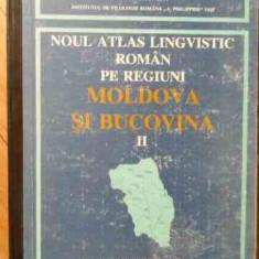 Noul Atlas Lingvistic Roman Pe Regiuni Moldova Si Bucovina Ii - Colectiv ,525701