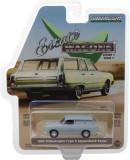 Cumpara ieftin 1965 Volkswagen Type 3 Panel Van - Light Grey Solid Pack - Estate Wagons Series 1 1:64