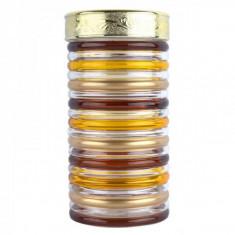 Recipent condimente din sticla pictata cu capac Peterhof PH10030 1.7L