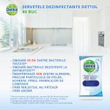 Servetele dezinfectante Dettol 40 buc