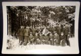 P.105 FOTOGRAFIE RAZBOI WWII MILITARI OFITERI GERMANI WEHRMACHT 9,5/6,5cm