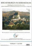 """Kirchenburgen in Siebenbürgen. Siebenbürgenkarte mit Ortschften as dem \""""Atlas der siebenbürgisch-sächsischen Kirchenburgen und Dorfkirchen\"""" 3. Aufla"""