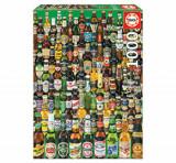 Cumpara ieftin Puzzle Beers, 1000 piese, Educa