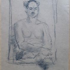 Autoportret - semnat  Kiss J.