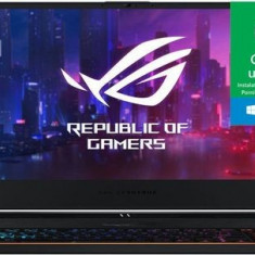 Laptop Gaming Asus ROG Zephyrus S GX531GXR-AZ033T (Procesor Intel® Core™ i7-9750H (12M Cache, up to 4.50 GHz), Coffee Lake, 15.6inch FHD, 16GB, 512GB