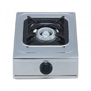 Minigaz inox Ertone, 1 arzator, aprindere automata