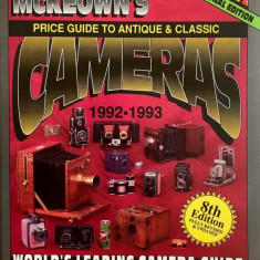 Price Guide to Antique and Classic Cameras, 1992-1993 by James M. McKeown