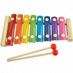 Xilofon Iso Trade, lemn, 3 ani+, Multicolor