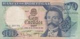 Portugalia 100 escudos 1965