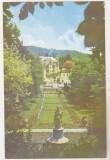 Bnk cp Govora - Vedere din parc - uzata, Baile Govora, Circulata, Printata