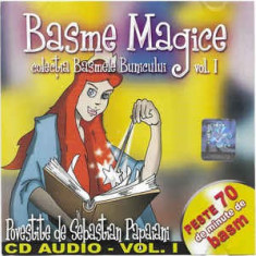 CD Sebastian Papaiani – Basme Magice Vol. I, muzica pentru copii