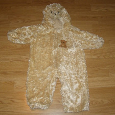 Costum carnaval serbare animal urs ursulet pentru copii de 1-2 ani 12-18 luni, Din imagine
