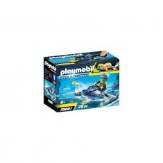 Playmobil Top Agents - Skijetul echipei S.H.A.R.K