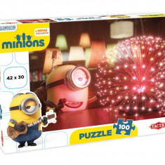 Puzzle Minions Lights 100 piese Tactic