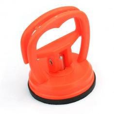 Ventuza puternica pentru ridicat display - ecran telefon, culoare portocalie