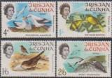 TRISTAN DA CUHNA - 1968 - PASARI, Fauna, Nestampilat