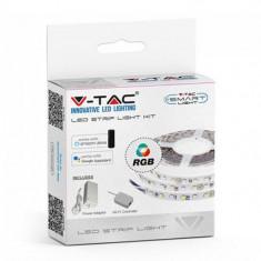 Banda LED Smart RGB, 60 led-uri smd/m, lungime 5 m