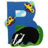 Magnet cu animale - Litera B | Bigjigs Toys