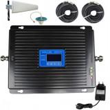 Cumpara ieftin Amplificator semnal GSM 4G / 3G Profesional iUni KW17B-GD, 2600 / 2100 / 900 MHz, Digital, Big size