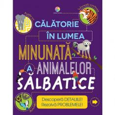 Calatorie in lumea minunata a animalelor salbatice PlayLearn Toys