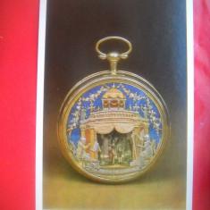 HOPCT 55981 CEAS DE BUZUNAR AUR EMAILEC XVIII   RUSIA-NECIRCULATA