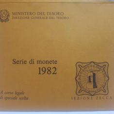 Serie de monede 1982 Italia