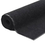 Rolă de covor antiderapant cu suport din vinil 1,2x10 m Negru