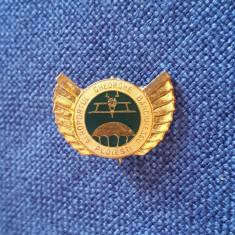 Insigna Aviatie - Parasutism - Aeroportul Ghe. Banciulescu - Ploiesti