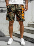 Cumpara ieftin Pantaloni scurți de trening kaki Bolf KS2504