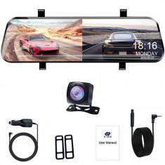 "Camera Auto Tip Oglinda E-ACE A20, Dubla, 10"" Inch, IPS, Touch Screen, Full HD, Night Vision, PIP"